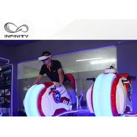 Cheap Infinity VR Motorcycle Motion Ride 9D VR Simulator Game Machine Electric Cylinder Motion for sale