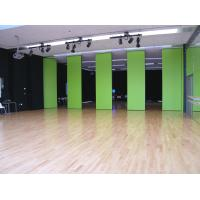 Buy cheap Commercial Aluminum Track Sliding Door Divider Operable Wall Panel 4m Height from wholesalers