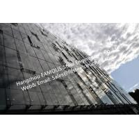 Quality Double Glass Wall Ventilated Façade Office Building with Double Skin Glazed Curtain Wall wholesale