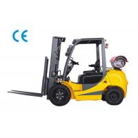 Buy cheap Dual Fuel Four Wheel Forklift 3000kg Capacity With Engine Protection Lock from wholesalers