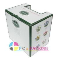 Cheap White Board Corrugated Paper Box (FC-CPB-24) for sale