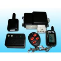 Cheap Auto Alarm with Long Range Two Way LCD Car Alarm for sale