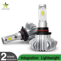 Cheap Fanless 60W H13 H7 H4 Led Car Headlight Bulbs 12000 Lumen For Auto Vehicle for sale