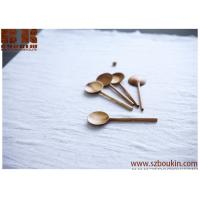 Cheap carved apricot wooden spoon Wood spoon Handcarved utensils chinese spoon for cooking Gift for chef for sale