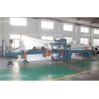 Cheap Beverage Plant PE Film Shrink Wrap Machines With Automatic Cutting and Shrink Tunnel for sale