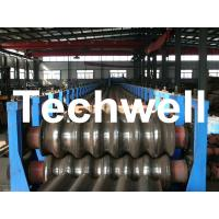 Cheap Galvanized Plate / Steel Corrugated Sheet Roll Forming Machine for For Wall Panel for sale