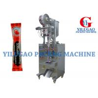 Cheap Auto Single Phase Plastic Stick Sauce Packing Machine Single Line With Piston Pump for sale