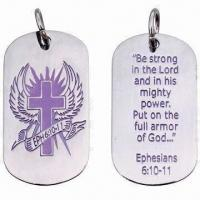 Cheap Promotional metal dog tag for sale