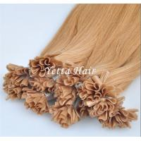 Cheap Italian Stick U Tip Pre Bonded Hair Extensions No Shedding No Tangle for sale
