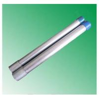 Cheap hot dipped galvanized steel pipe threading with socket made in China market factory mill for sale