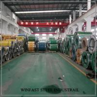Cheap ASTM A240 441 Stainless Steel Sheet In Coil Thickness 0.8 - 3.0mm 4ft Mile Edge for sale