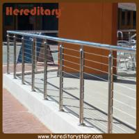 Cheap Wire Balustrade with Round Mirror Finish Posts and Handrails (SJ-682) for sale