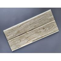Buy cheap Customized Plastic Bathroom PVC Wood Panels , Bathroom Ceiling Cladding Panels from wholesalers