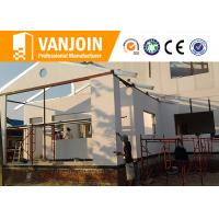 Cheap Ecological Modern Prefab Modular Homes By High Strength EPS Cement Wall Panel for sale