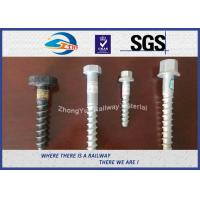 Hot Deep Galvanized Railway Sleeper Screws HEX Head Screw Spike