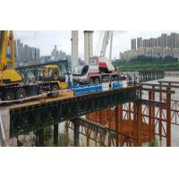 Cheap Military Use Floating Pontoon Bridge Bailey System Modular Steel Bridges wholesale