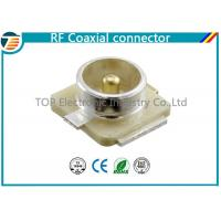 Cheap U.FL Connector Plug RF Coaxial Connector 50 Ohm Surface Mount for sale