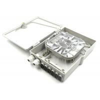 Cheap Frog Wall Mount Termination Box , 12 Fiber Ftth Termination Box For Networking Devices for sale