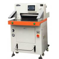 Cheap DB-520V8 Programmed Hydraulic Paper Cutting Machine 520mm With Touch Screen for sale
