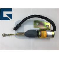 China Cummins Engine Stop Solenoid Valve 12V 24V 3991168 For Excavator on sale