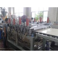 Quality 1220mm WPC crust foam board extrusion line wholesale