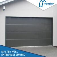 Cheap Sectional Garage Door with Polyurethane Foam and automatic operation for Residential for sale