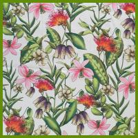 Buy cheap Colorful flower design printed tablecloth made of 100% polyester table decration from wholesalers