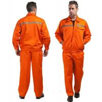 Cheap Anti-Shrink Anti-UV Plus Size Flame Retardant Workwear / Customize FR Coveralls for sale