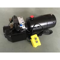 Cheap DC 12V 1.6KW  Work Pressure 18Mpa with Round Steel Tank Mini Hydraulic Power Packs for Fork-lifts wholesale