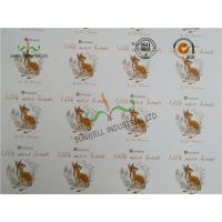 Cheap Foldable Swing Tags For Bags ,  300GSM Coated One Side Spot UV Tags wholesale