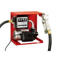 Cheap Wall Or Tank Mounted 120V Fuel Transfer Pump With Meter / Manual Nozzle for sale