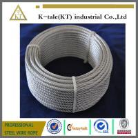 Cheap made in china 7x19 5mm galvanized aircraft cable with cheap price for sale