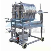 Cheap Stainless Steel Plate and Frame Filter Press Brewing Mash Filter Beer Filter for sale