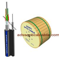 Cheap Outside 24 48 Core Figure 8 Fiber Optic Cable Central Loose Tube G657 G652 for sale