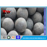 Cheap Industrial High Hardness HRC 60-68 forged grinding media steel balls 60Mn wholesale