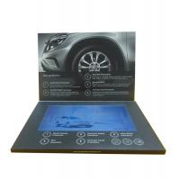 Cheap Factory Supply Bespoke Video Brochures , Paper Craft Video Invitation Card for sale
