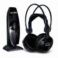 China Comfortable Wearing UHF 2.4GHz Wireless Headphones with 100m Operating Distance (in Open Air) on sale