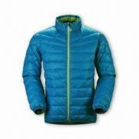 Cheap Women's Down Jacket with YKK 5# Plastic Zipper and 2 Hang Pocket for sale