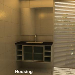 Cheap High Gross Modern Bathroom Cabinets Vanities FSC , ISO9001 for sale