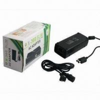 Cheap AC Adapter Power Supply for Microsoft Xbox 360 Slim and Game Accessory for sale