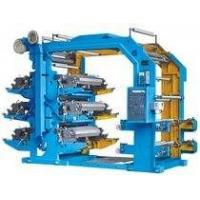 Cheap Industrial 6 Color Flexo Printing Machine For PP Woven Fabrics / Plastic Films for sale