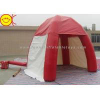 Cheap Outdoor Lawn Event Mini 3m Inflatable Tent PVC Red Inflatable Dome Tent With Door for sale