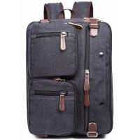 Cheap Iron Grey Polyester Laptop Bag With Pockets Drop Resistance Large Capacity for sale