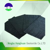 Cheap Recycled / Virgin Geotextile Woven Fabric Pp 160kn Split Film For Railway Project for sale
