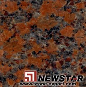 Cheap Offer  Maple Leaf,Granite Tiles wholesale