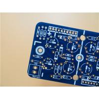 Cheap 3 oz Thick Copper PCB On FR4 With Blue soldermask Color and HASL for sale