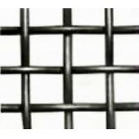 Cheap Black Steel Crimped Wire Mesh for sale