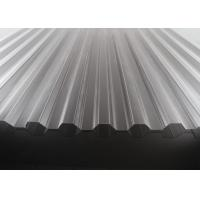 Cheap High Transparency Corrugated Polycarbonate Sheets For Skylights 10 Years Warranty for sale
