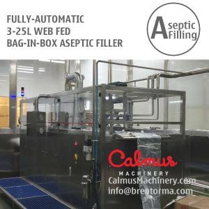 Cheap WEB-Fed 3-5-10-20 Litre BIB Bag Filler Juice Dairy Bag in Box Aseptic Filling Machine for sale