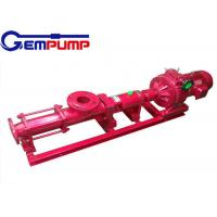 China G  type stainless steel Small Screw Pump explosion-proof 0~150m³/h Flow on sale